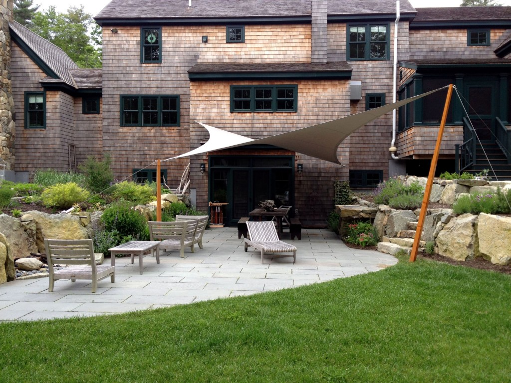 Project Spotlight: Tension Awning in Duxbury, MA