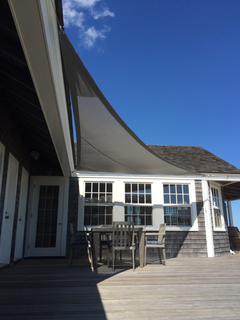 Mesh Tension Awning
